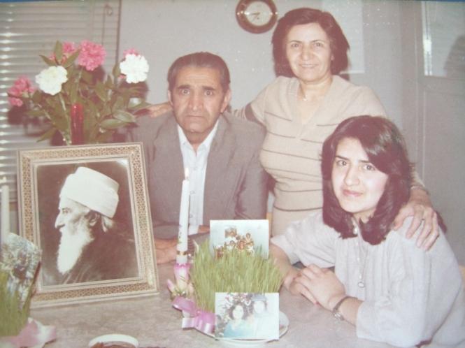 عزت جانمی و رویا و عنایت الله اشراقی