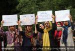تجمع اعتراضی هواداران محیط زیست، برای نجات پارک ملی گلستان