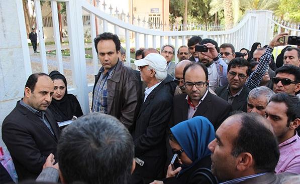 12 تجمع اعتراضی معلمان در بوشهر