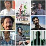 اعتصاب غذا در قرنطینه بند 8 زندان اوین