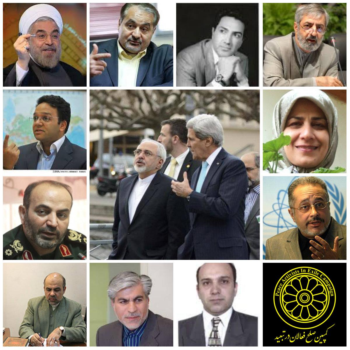 دو نما از حسن روحانی: لیست ده قربانی بلندپایه حسن روحانی برای مذاکرات هسته ای