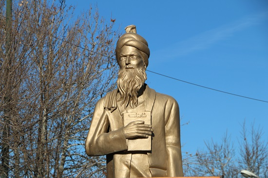 تخریب مجسمه سعدی در سلماس